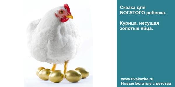 Финансовая грамотность. Сказка для успешного ребенка. Курица, несущая золотые яйца.