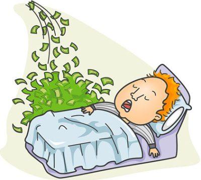 Ты спишь, а деньги приходят! Главная особенность пассивного дохода!