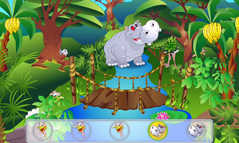 "Игра ""Animal Hide and Seek for Kids"". Приложение для Android."
