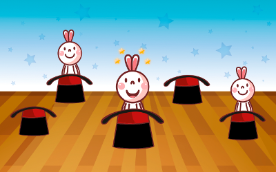 """Бонусная игра """"Поймай зайчика"""" за каждые 5 правильных ответов позволяет ребенку немного отдохнуть и повеселиться. (Учим цифры 2+ Free. Детское игровое приложение для Android.)"""