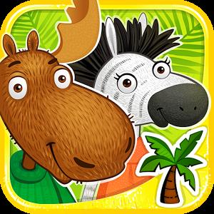 """Интерактивный журнал """"Лось и Зебра"""". Игровое приложение для Android для детей от 3 до 7 лет."""